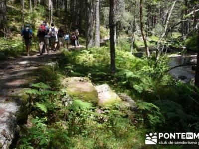 Las Pesquerías Reales - Senderismo Segovia (Ruta de las Pesquerías Reales); turismo en la sierra d